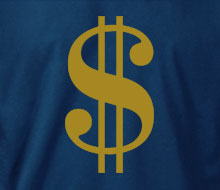 Sign of the Dollar - Crewneck Sweatshirt