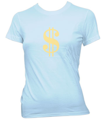 Sign of the Dollar - Ladies' Tee