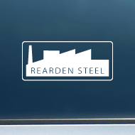 "Rearden Steel (Factory) - Vinyl Decal/Sticker (5"" wide)"