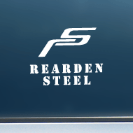 "Rearden Steel (RS) - Vinyl Decal/Sticker (5"" wide)"