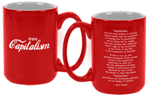 "Enjoy Capitalism Mug - ""Seconds"" (read details)"