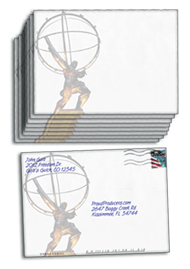 "Atlas Statue Envelopes (4.75"" x 6.5"")"
