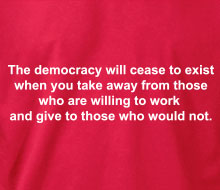 The Democracy Will Cease to Exist - Hoodie