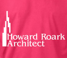 Howard Roark, Architect (Skyline) - Ladies' Tee