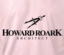 Howard Roark, Architect (Drafting Compass) - Ladies' Tee