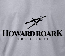 Howard Roark, Architect (Drafting Compass) - Crewneck Sweatshirt