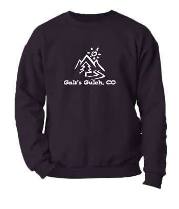 Galt's Gulch, CO - Crewneck Sweatshirt