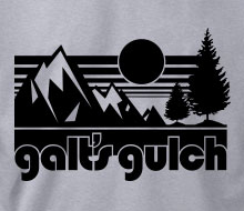 Galt's Gulch (Sunrise) - Long Sleeve Tee