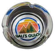 Galt's Gulch Ashtray