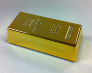 Gold Bar Magnet