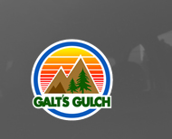 "Galt's Gulch Circle Sticker (3"" or 5"" wide)"