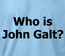 Who is John Galt? (Plain Text) - T-Shirt