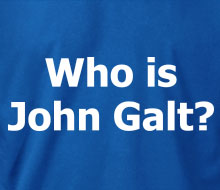 Who is John Galt? (Plain Text) - Hoodie
