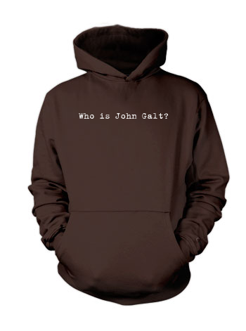 Who is John Galt? (Typewriter) - Hoodie