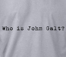 Who is John Galt? (Typewriter) - Crewneck Sweatshirt