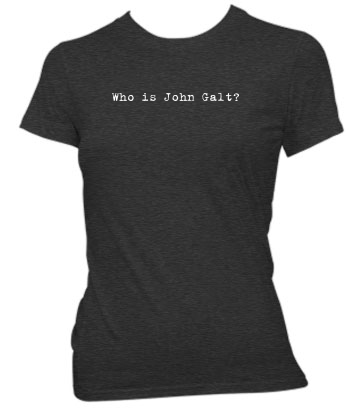 Who is John Galt? (Typewriter) - Ladies' Tee