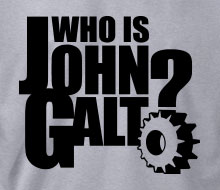Who is John Galt? (Gear) - Crewneck Sweatshirt