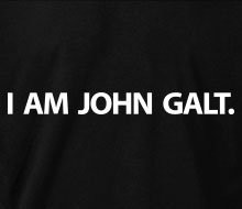 I am John Galt. (Simple) - T-Shirt