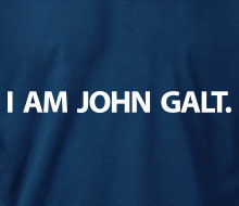I am John Galt. (Simple) - Hoodie