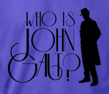 Who is John Galt? (Trenchcoat) - Ladies' Tee