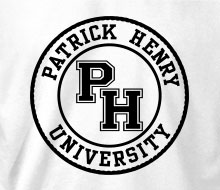 Patrick Henry University - Long Sleeve Tee