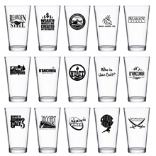 Set of 4 Pint Glasses (mix-and-match!)