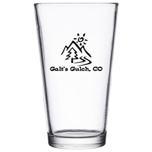 Galt's Gulch, CO (Pint Glass)