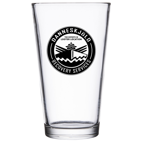 Danneskjöld Recovery Services (Pint Glass)