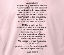 Ayn Rand - Capitalism (Quote)