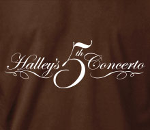 Halley's 5th Concerto - T-Shirt