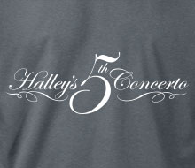 Halley's 5th Concerto - Hoodie