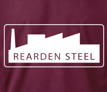 Rearden Steel (Factory) - T-Shirt
