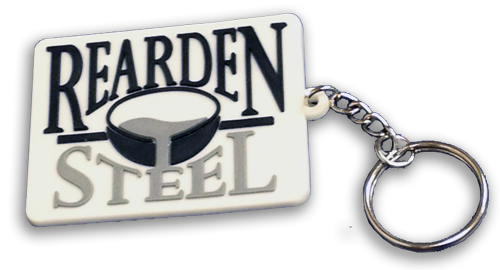 Rearden Steel (Pouring Metal) Key Chain - FACTORY SECONDS!