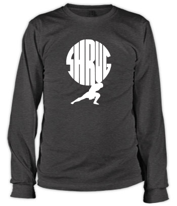 Shrug - Long Sleeve Tee
