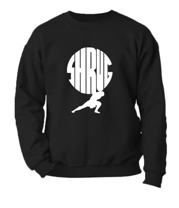 Shrug - Crewneck Sweatshirt