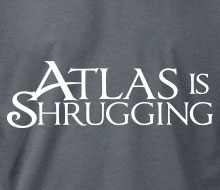 Atlas is Shrugging - Long Sleeve Tee