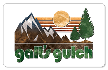 Galt's Gulch (Sunrise) - Indoor Sticker