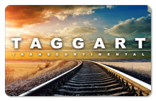 Taggart Transcontinental (Tracks) - Indoor Sticker
