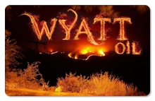Wyatt Oil (Burning Fields) - Indoor Sticker