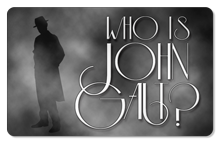Who is John Galt? (Trenchcoat) - Indoor Sticker