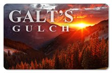 Galt's Gulch (Scenic) - Indoor Sticker