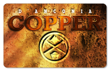 d'Anconia Copper (Mining Logo) - Indoor Sticker