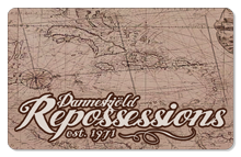 Danneskjöld Repossessions (Map) - Indoor Sticker