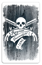 Ragnar Danneskj�ld (Guns) - Indoor Sticker