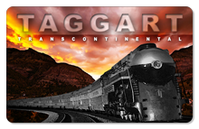 Taggart Transcontinental (Train) - Indoor Sticker