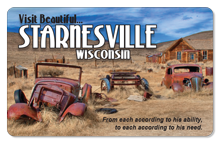 Visit Beautiful Starnesville - Indoor Sticker