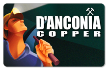 d'Anconia Copper (Art Deco) - Indoor Sticker