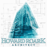 "Howard Roark Architect Sticker (5"" wide)"