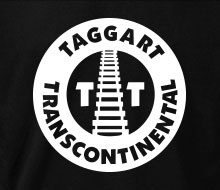 Taggart Transcontinental (Circle w/Tracks) - Crewneck Sweatshirt