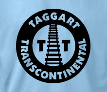 Taggart Transcontinental (Circle w/Tracks) - Long Sleeve Tee